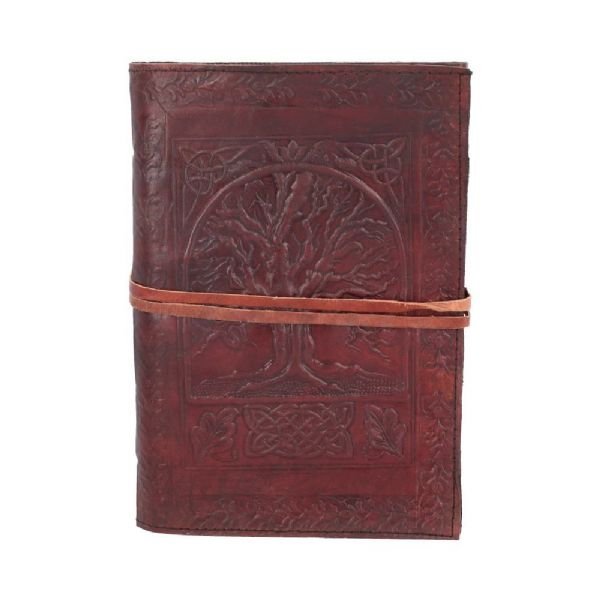NEMESIS NOW Pagan Tree Of Life Leather Embossed Journal  / Book of Shadows